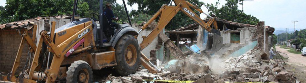 Reconstrucción de vivienda y obra desarrollada en 2017