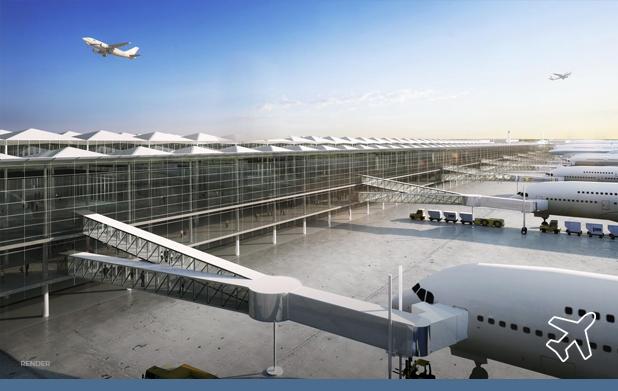 Francisco González será el arquitecto que diseñe aeropuerto de Santa Lucía. Será para carga y líneas de bajo costo