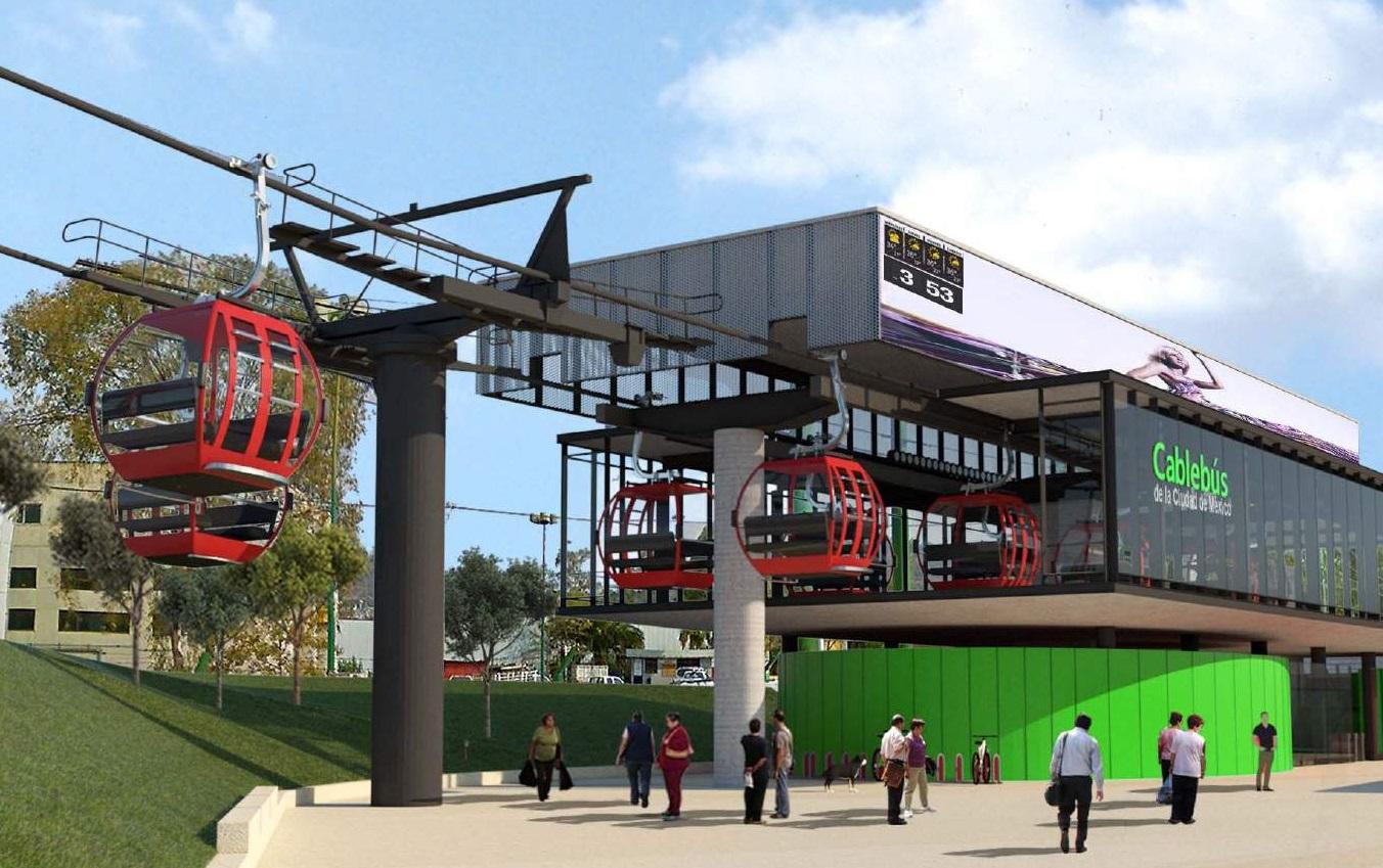 Invertirán 3,186 millones de pesos en Línea 2 de Cablebús; construye Leitner-Alfa
