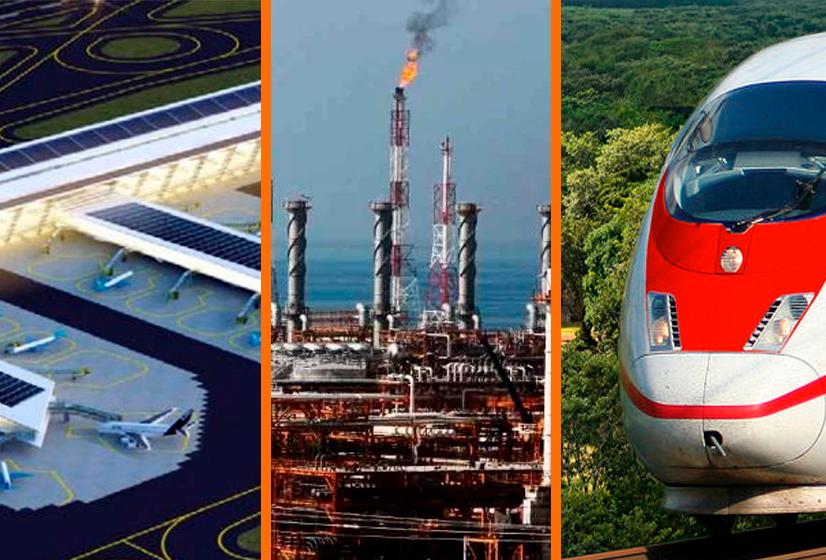 Recortan 31% los recursos de Tren Maya, Dos Bocas y Santa Lucía para 2020