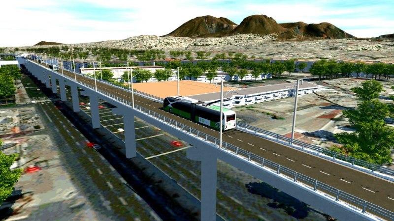 Trolebús Elevado en Iztapalapa recibirá inversión de 4 mil mdp