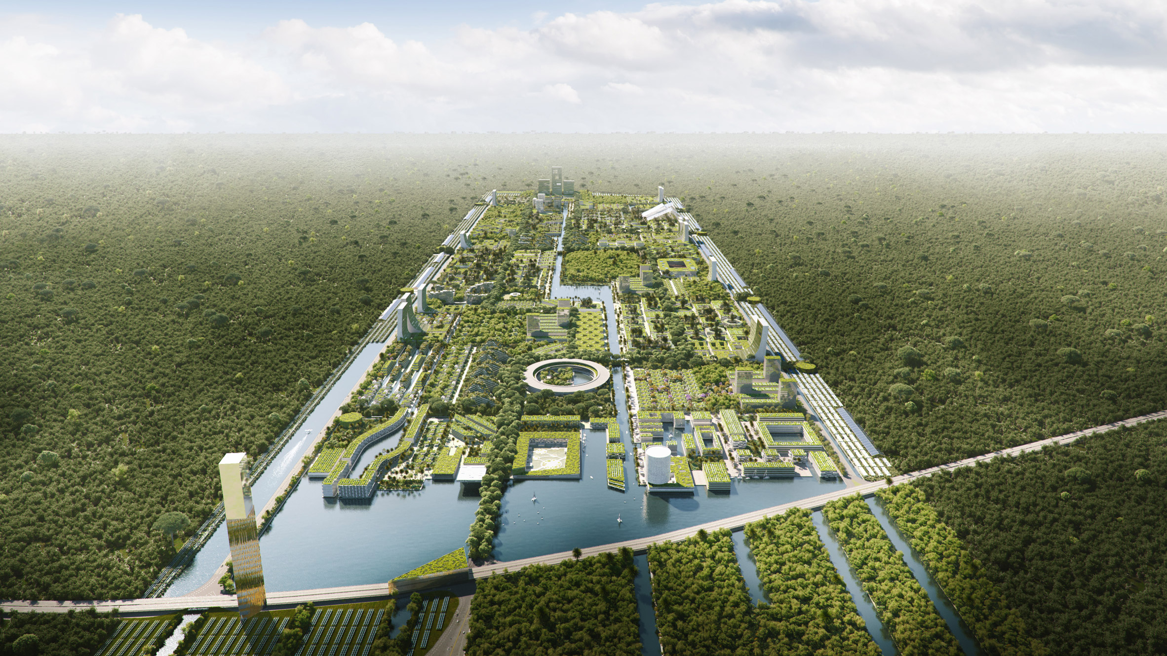 Smart Forest Cancún, la ciudad inteligente y ecológica que busca construir Stefano Boeri