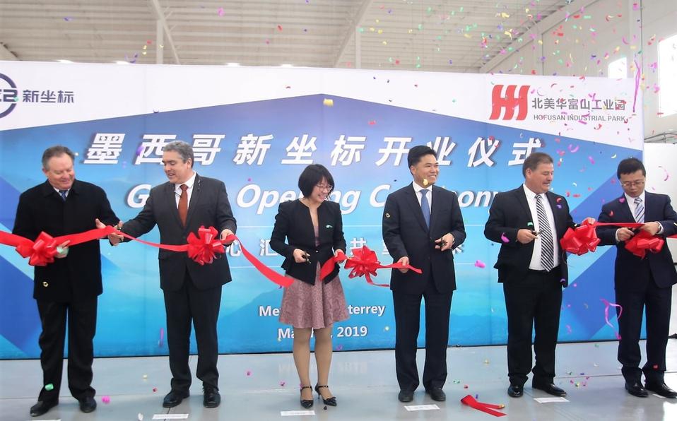 Empresas chinas van por el mercado corporativo en Monterrey; invertirán más de 160 mdd