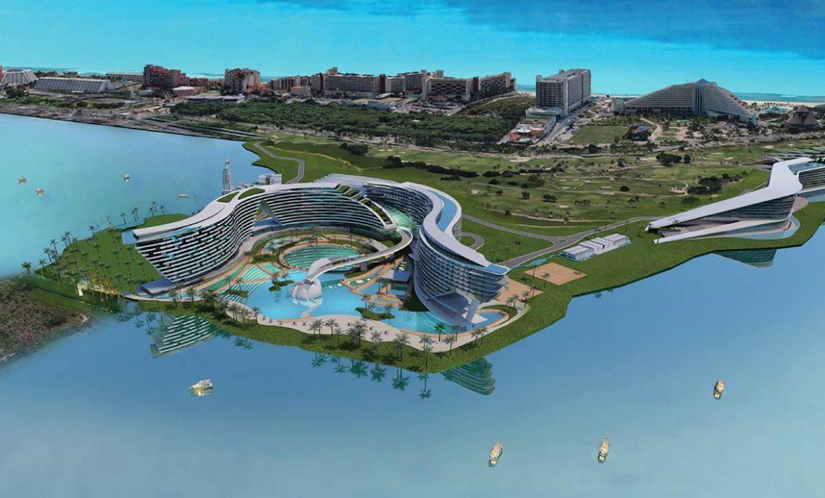 Ofrece Fonatur canjear terrenos a hoteles Grand Island y RIU Riviera Cancún por sobreexplotación