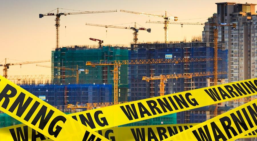 Se suspenden obras de construcción no esenciales por emergencia sanitaria