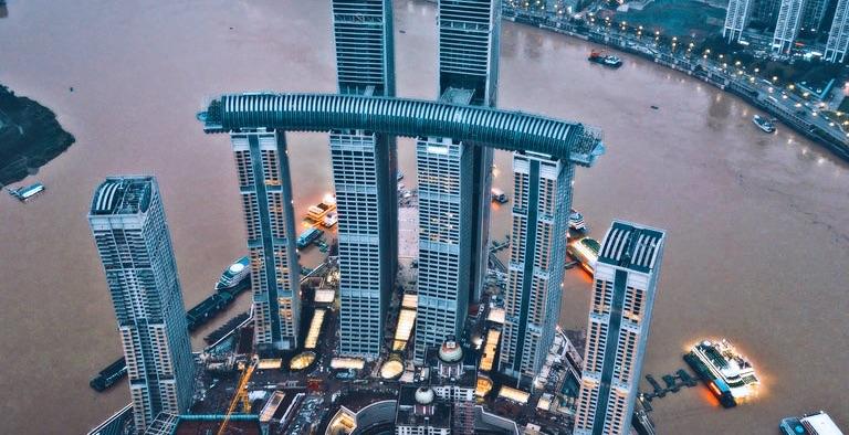 Inauguran el «rascacielos horizontal» más alto del mundo