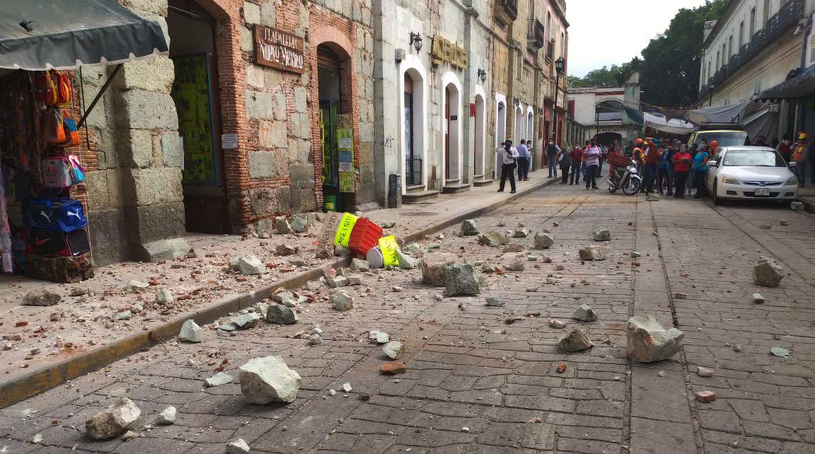 Al menos 5 mil viviendas afectadas por sismo en Oaxaca