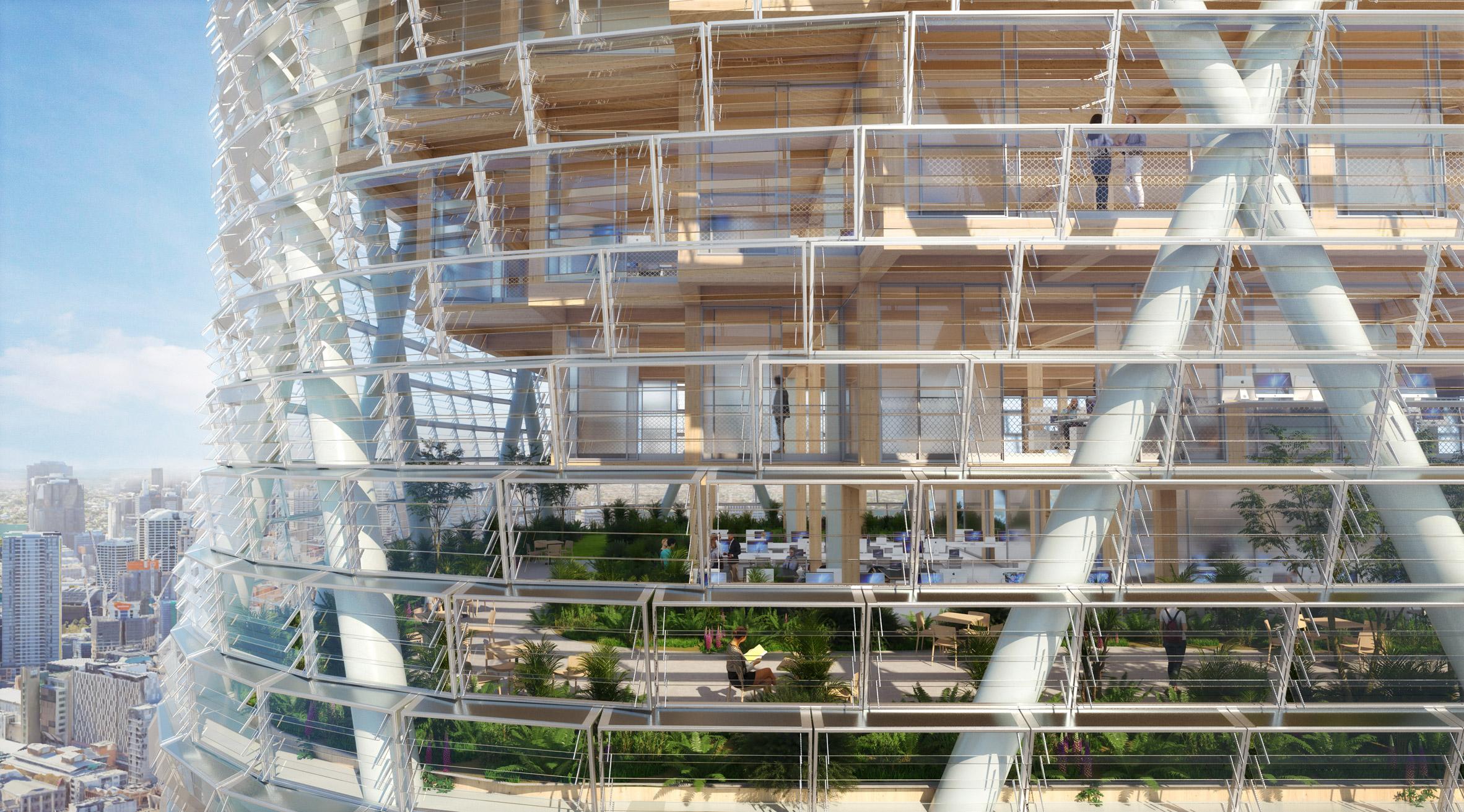 Así será el rascacielos de madera híbrida más alto del mundo