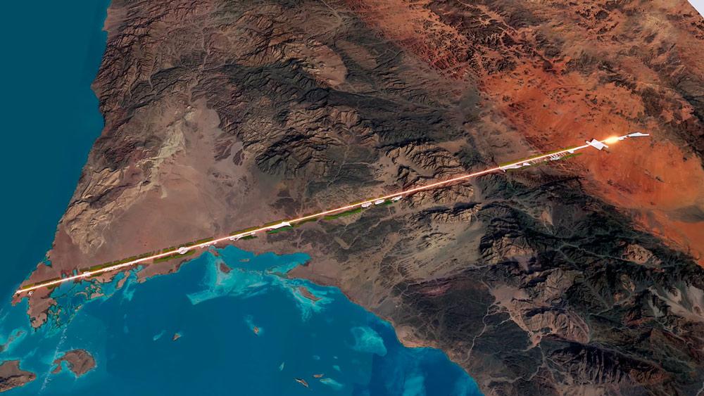Conoce The Line, la ciudad lineal cero carbono del futuro