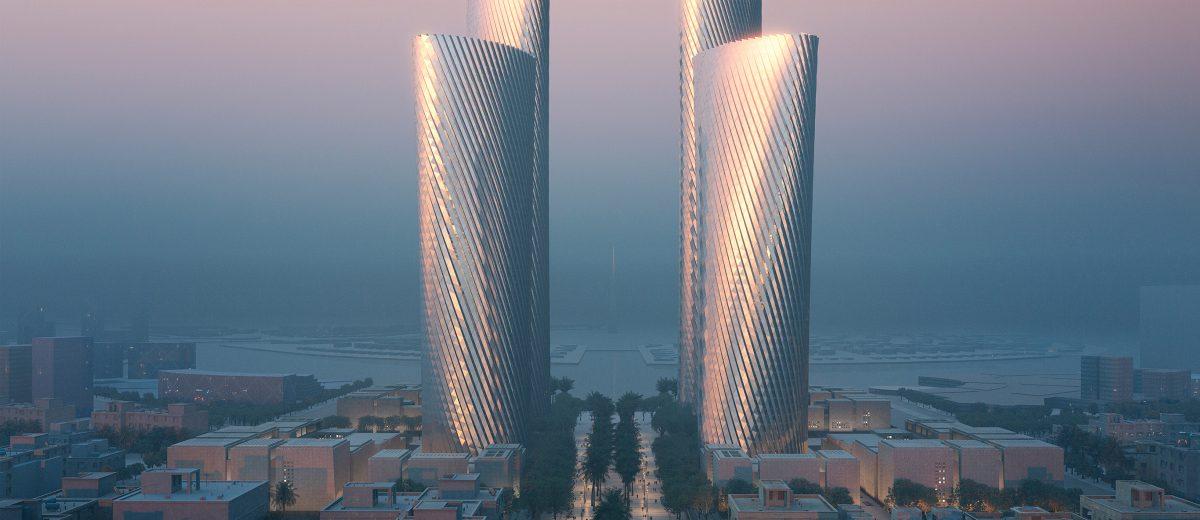 Conoce las nuevas torres de Foster + Partners en Catar