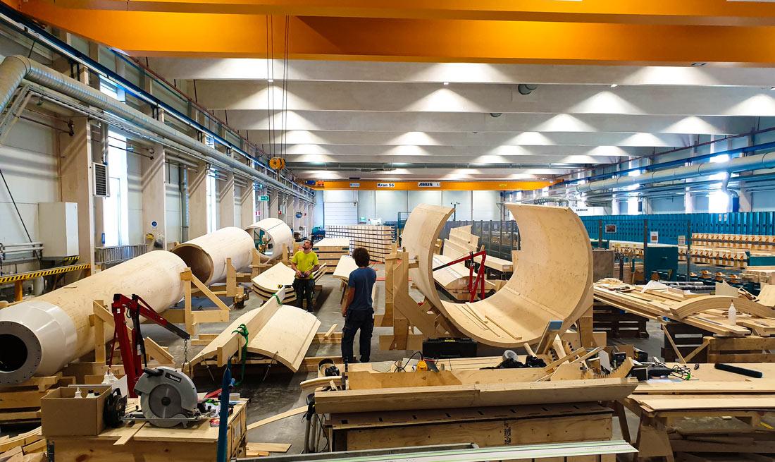 Turbinas eólicas de madera, la nueva apuesta de Vestas