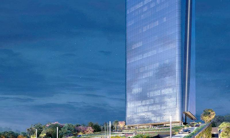 Al sureste de Mérida inician la construcción del primer rascacielos:The Sky