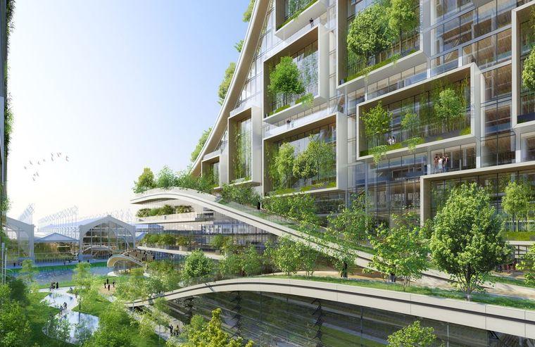 Los edificios ecológicos inteligentes auguran éxito para la recuperación municipal