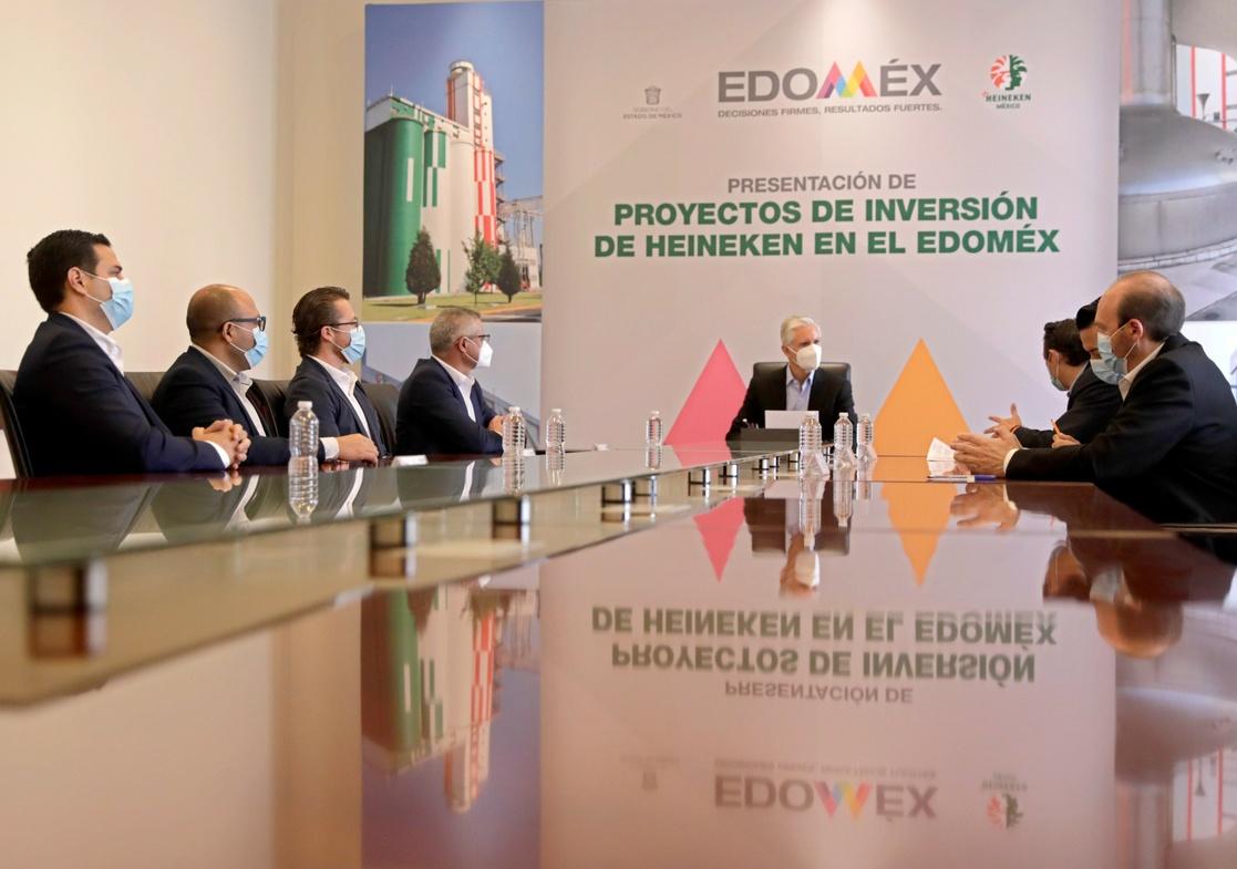 Anuncia Heineken inversión de 677 mdp para su planta de Toluca