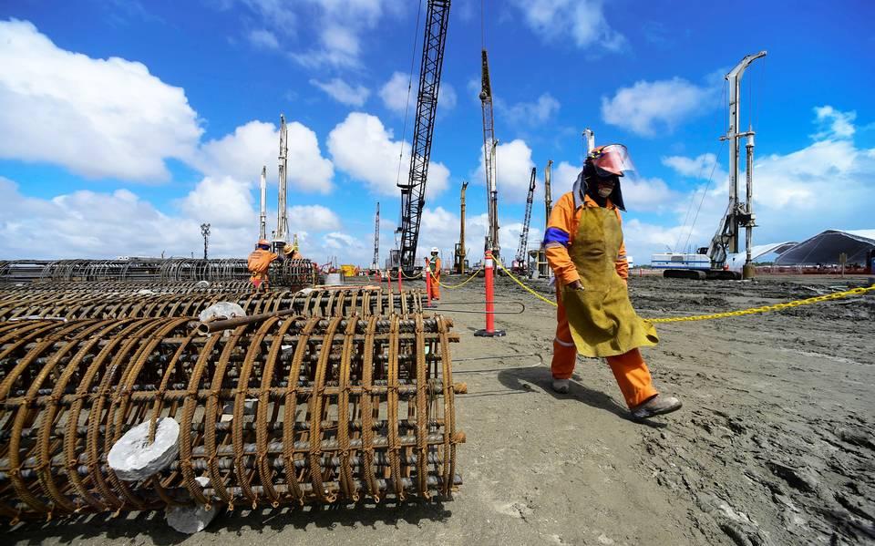 Presenta Sener avances en la construcción de Dos Bocas