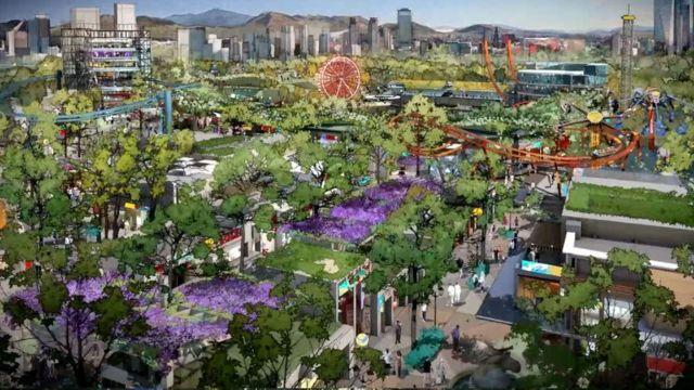 Así será Aztlán, el nuevo parque que sustituirá a la Feria de Chapultepec