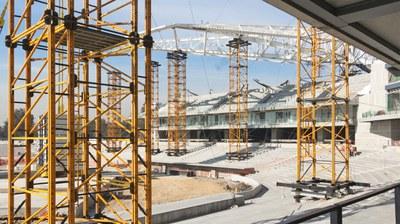 Crece construcción 0.57% en México